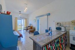 Кухня. Кипр, Декелия - Ороклини : Апартамент с гостиной, двумя спальнями и балконом с видом на море