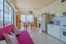 Гостиная. Кипр, Декелия - Ороклини : Апартамент с гостиной, двумя спальнями и большим балконом с видом на море