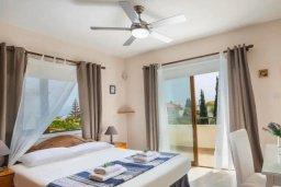 Спальня. Кипр, Коннос Бэй : Уютная вилла с зеленым двориком и барбекю, 2 спальни, парковка, Wi-Fi