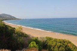 Ближайший пляж. Кипр, Лачи : Роскошная современная вилла в 100 метрах от пляжа с бассейном и зеленым двориком, 5 спален, 3 ванные комнаты, барбекю, парковка, Wi-Fi