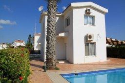 Фасад дома. Кипр, Ионион - Айя Текла : Уютная вилла с бассейном и приватным двориком, 3 спальни, 2 ванные комнаты, парковка, Wi-Fi