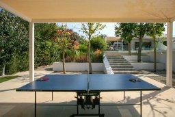 Территория. Кипр, Санрайз Протарас : Роскошная вилла с бассейном и зеленой территорией, 4 спальни, 4 ванные комнаты, барбекю, бильярд, парковка, Wi-Fi