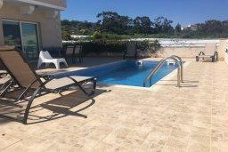 Бассейн. Кипр, Каво Марис Протарас : Прекрасная вилла с бассейном и двориком с барбекю, 4 спальни, 3 ванные комнаты, парковка, Wi-Fi