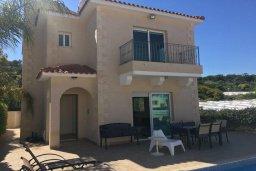Фасад дома. Кипр, Каво Марис Протарас : Прекрасная вилла с бассейном и двориком с барбекю, 4 спальни, 3 ванные комнаты, парковка, Wi-Fi