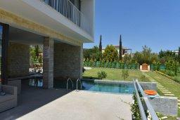 Территория. Кипр, Лачи : Роскошная современная вилла в 100 метрах от пляжа с бассейном и зеленым двориком, 4 спальни, 3 ванные комнаты, барбекю, парковка, Wi-Fi