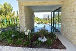 Бассейн. Кипр, Лачи : Роскошная современная вилла в 100 метрах от пляжа с бассейном и зеленым двориком, 4 спальни, 3 ванные комнаты, барбекю, парковка, Wi-Fi