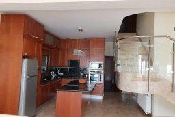 Кухня. Кипр, Декелия - Ороклини : Прекрасная пляжная вилла с бассейном и двориком с барбекю, 4 спальни, 3 ванные комнаты, парковка, Wi-Fi