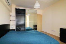 Спальня. Кипр, Гермасойя Лимассол : Апартамент в 30 метров до пляжа, большая гостиная, 2 спальни, балкон с видом на море