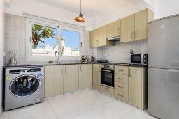 Кухня. Кипр, Нисси Бич : Современная потрясающая вилла с 3-мя спальнями, бассейном, солнечной террасой с патио, барбекю и садом на крыше