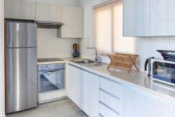 Кухня. Кипр, Коннос Бэй : Современная вилла с бассейном и двориком с барбекю, 3 спальни, 3 ванные комнаты, парковка, Wi-Fi