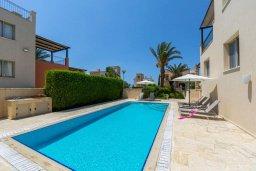 Бассейн. Кипр, Аргака : Прекрасная вилла в 150 метрах от пляжа с бассейном и двориком с барбекю, 3 спальни, 3 ванные комнаты, парковка, Wi-Fi