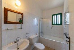 Ванная комната. Кипр, Си Кейвз : Уютная вилла с бассейном и двориком с барбекю, 2 спальни, 2 ванные комнаты, парковка, Wi-Fi