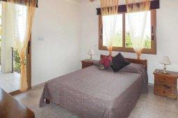 Спальня 3. Кипр, Аргака : Уютная вилла с бассейном и зеленым двориком с барбекю, 3 спальни, 3 ванные комнаты , парковка, Wi-Fi