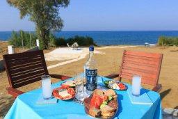 Территория. Кипр, Айя Марина Хрисохус : Роскошная вилла в 30 метрах от пляжа с бассейном, джакузи и видом на море, 3 спальни, 3 ванные комнаты, барбекю, парковка, Wi-Fi