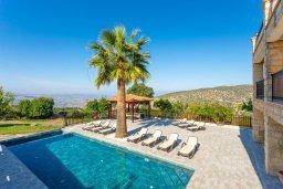 Бассейн. Кипр, Скулли : Прекрасная вилла с бассейном и двориком с барбекю, 7 спален, 6 ванных комнат, парковка, Wi-Fi