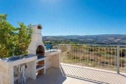 Территория. Кипр, Скулли : Шикарная вилла с бассейном, зеленой лужайкой и барбекю, 4 спальни, 5 ванных комнат, парковка, Wi-Fi