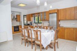 Кухня. Кипр, Айя Марина Хрисохус : Прекрасная вилла с бассейном и двориком с барбекю, 4 спальни, 3 ванные комнаты, парковка, Wi-Fi