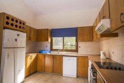 Кухня. Кипр, Лачи : Превосходная вилла в 150 метрах от пляжа с бассейном и зеленым двориком с барбекю, 4 спальни, 3 ванные комнаты, парковка, Wi-Fi