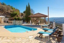 Бассейн. Кипр, Скулли : Уютная вилла с бассейном и приватным двориком с барбекю, 3 спальни, 3 ванные комнаты, парковка, Wi-Fi