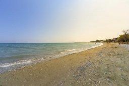 Ближайший пляж. Кипр, Менеу : Очаровательная вилла с невероятным видом на море, с 3-мя спальнями, 3-мя ванными комнатами, большой зелёной лужайкой, патио, барбекю, расположена в тихом месте у пляжа Kiti Beach