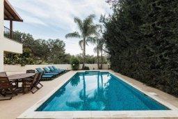 Бассейн. Кипр, Писсури : Прекрасная вилла с бассейном и двориком с барбекю, 5 спален, 7 ванных комнат, парковка, Wi-Fi