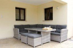 Патио. Кипр, Писсури : Прекрасная вилла с бассейном и двориком с барбекю, 5 спален, 5 ванных комнат, парковка, Wi-Fi