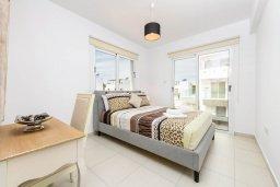 Спальня 3. Кипр, Нисси Бич : Современная очаровательная вилла с 3-мя спальнями, бассейном, солнечной террасой с патио, барбекю и садом на крыше