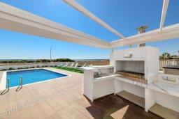 Территория. Кипр, Ионион - Айя Текла : Роскошная современная вилла с панорамным видом на море, с 3-мя спальнями, 3-мя ванными комнатами, бассейном, тенистой террасой с патио, традиционным каменным барбекю и уличным баром, расположена в 100 метрах от моря