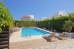 Бассейн. Кипр, Коннос Бэй : Очаровательная вилла, с 3-мя спальнями, 2-мя ванными комнатами, бассейном, зелёным двориком, солнечной террасой с патио и барбекю, расположена недалеко от пляжа Mimosa Beach