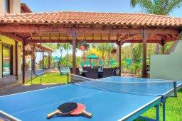 Территория. Кипр, Фиг Три Бэй Протарас : Роскошная вилла с бассейном и зеленой территорией, 5 спален, 4 ванные комнаты, детская площадка, барбекю, парковка, Wi-Fi