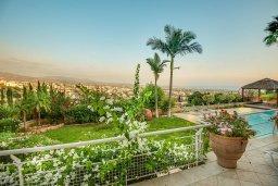 Территория. Кипр, Пейя : Роскошная вилла с бассейном и зеленым двориком с барбекю, 6 спален, 6 ванных комнат, парковка, Wi-Fi