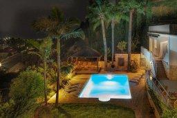 Бассейн. Кипр, Пейя : Роскошная вилла с бассейном и зеленым двориком с барбекю, 6 спален, 6 ванных комнат, парковка, Wi-Fi