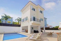 Фасад дома. Кипр, Санрайз Протарас : Роскошная вилла с 2-мя спальнями, с бассейном и видом на море, расположена в тихом месте Протараса