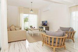 Гостиная. Кипр, Пернера Тринити : Современная вилла с 4-мя спальнями, 3-мя ванными комнатами, бассейном и приватным двориком с барбекю, расположена недалеко от пляжа Ayia Triada Beach