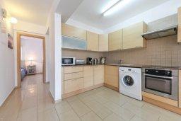 Кухня. Кипр, Нисси Бич : Современный апартамент с гостиной, тремя спальнями, двумя ванными комнатами и балконом, расположен в самом престижном районе Айя-Напы в 300 метрах от пляжа