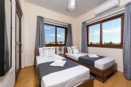 Спальня 3. Кипр, Ионион - Айя Текла : Потрясающая вилла с 3-мя спальнями, 2-мя ванными комнатами, с бассейном, солнечной террасой с патио и барбекю, расположена  в тихом районе Ayia Thekla недалеко от пляжа