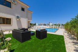 Территория. Кипр, Ионион - Айя Текла : Очаровательная вилла с 3-мя спальнями, 2-мя ванными комнатами, с бассейном, тенистой террасой с патио и барбекю, расположена в тихом районе Ayia Thekla недалеко от пляжа