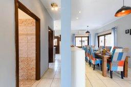 Обеденная зона. Кипр, Центр Айя Напы : Прекрасная вилла с 4-мя спальнями, 2-мя ванными комнатами, с бассейном, солнечной террасой с патио и барбекю, расположена недалеко от центра курорта Ayia Napa