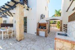 Территория. Кипр, Коннос Бэй : Потрясающая вилла с видом на Средиземное море, с 3-мя спальнями, 2-мя ванными комнатами, бассейном, тенистой террасой с патио, каменным барбекю и садом на крыше, расположена недалеко от пляжа Konnos Beach