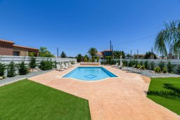 Бассейн. Кипр, Центр Айя Напы : Прекрасная вилла с 4-мя спальнями, 4-мя ванными комнатами, с бассейном, солнечной террасой с патио и барбекю, расположена недалеко от центра курорта Ayia Napa