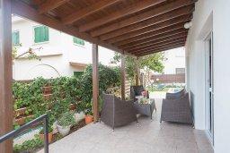 Патио. Кипр, Санрайз Протарас : Прекрасная вилла с бассейном и двориком с барбекю, 3 спальни, парковка, Wi-Fi