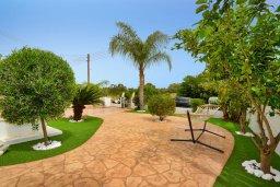 Территория. Кипр, Нисси Бич : Великолепная вилла с бассейном и двориком с барбекю, 4 спальни, 3 ванные комнаты, парковка, Wi-Fi