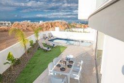 Территория. Кипр, Санрайз Протарас : Современная вилла с 2-мя спальнями, с бассейном и приватным двориком с тенистой террасой с патио и барбекю, расположена недалеко от пляжа Sunrise Beach