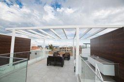 Патио. Кипр, Санрайз Протарас : Современная вилла с 2-мя спальнями, с бассейном и приватным двориком с тенистой террасой с патио и барбекю, расположена недалеко от пляжа Sunrise Beach