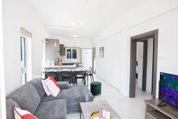 Гостиная. Кипр, Каво Марис Протарас : Апартамент с гостиной, двумя спальнями и террасой