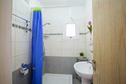 Ванная комната. Кипр, Центр Айя Напы : Апартамент в центре Айя-Напы с гостиной, отдельной спальней, террасой и садом