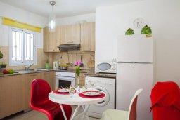 Кухня. Кипр, Центр Айя Напы : Апартамент в центре Айя-Напы с гостиной, отдельной спальней, террасой и садом