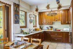 Кухня. Кипр, Троодос : Очаровательный коттедж с 4-мя спальнями, просторной террасой с потрясающим видом на горы, расположен в деревне Amiantos на вершине холма над берегом реки Kouris