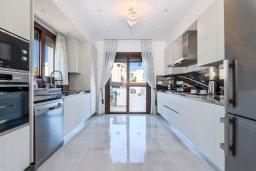 Кухня. Кипр, Ионион - Айя Текла : Потрясающая вилла с шикарным видом на море, с 5-ю спальнями, с бассейном, джакузи и солнечной террасой с lounge-зоной, расположена на побережье в Ayia Thekla