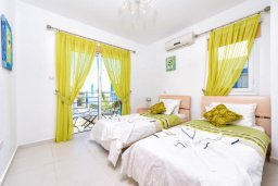 Спальня 2. Кипр, Каппарис : Потрясающая вилла с видом на Средиземное море, с 3-мя спальнями, с бассейном, террасой на крыше, расположена недалеко от пляжа Firemans Beach